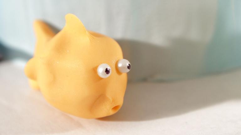 How to Make a Fondant Goldfish