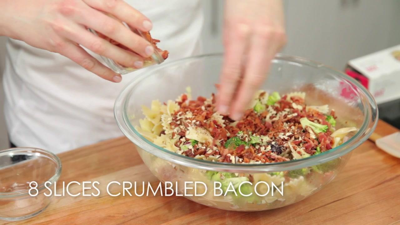 How to Make Broccoli, Grape, and Pasta Salad
