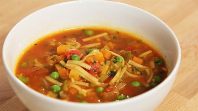 DFS: Keyword: Broad: All Comp The Lighter Option: Veg Packed Minestrone