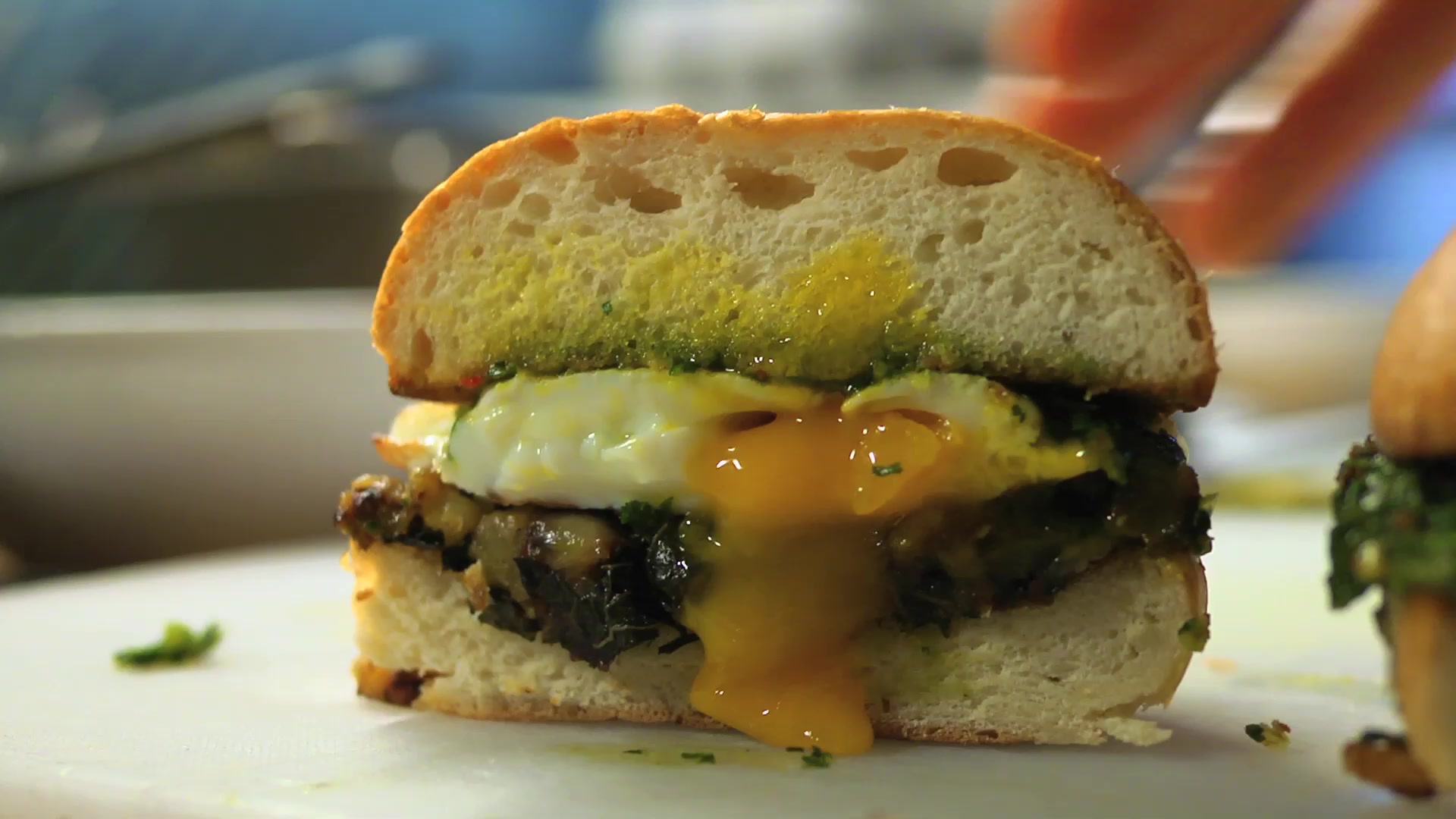 Northern Spy Food's Egg Sandwich Recipe