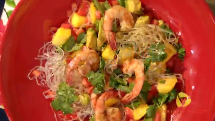 Gluten-Free Kelp Noodles With Grilled Shrimp Recipe