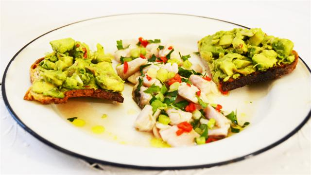 Rosie's Brixton Kitchen: How to Make Mexican Ceviche