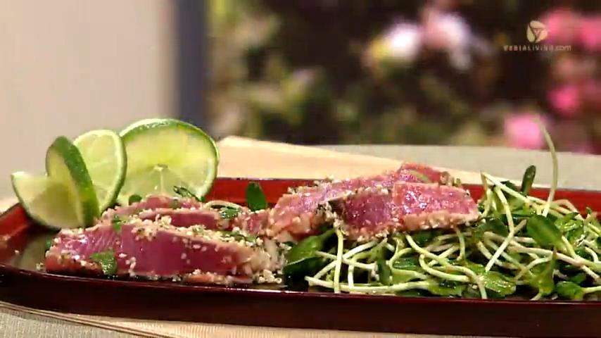 Hemp-Crusted Tuna Recipe