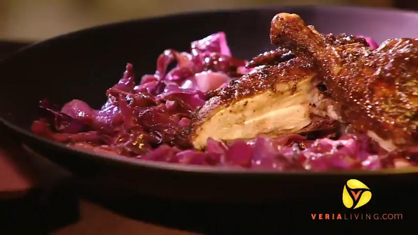 Scandinavian Juniper Berry-Rubbed Cornish Hens Recipe