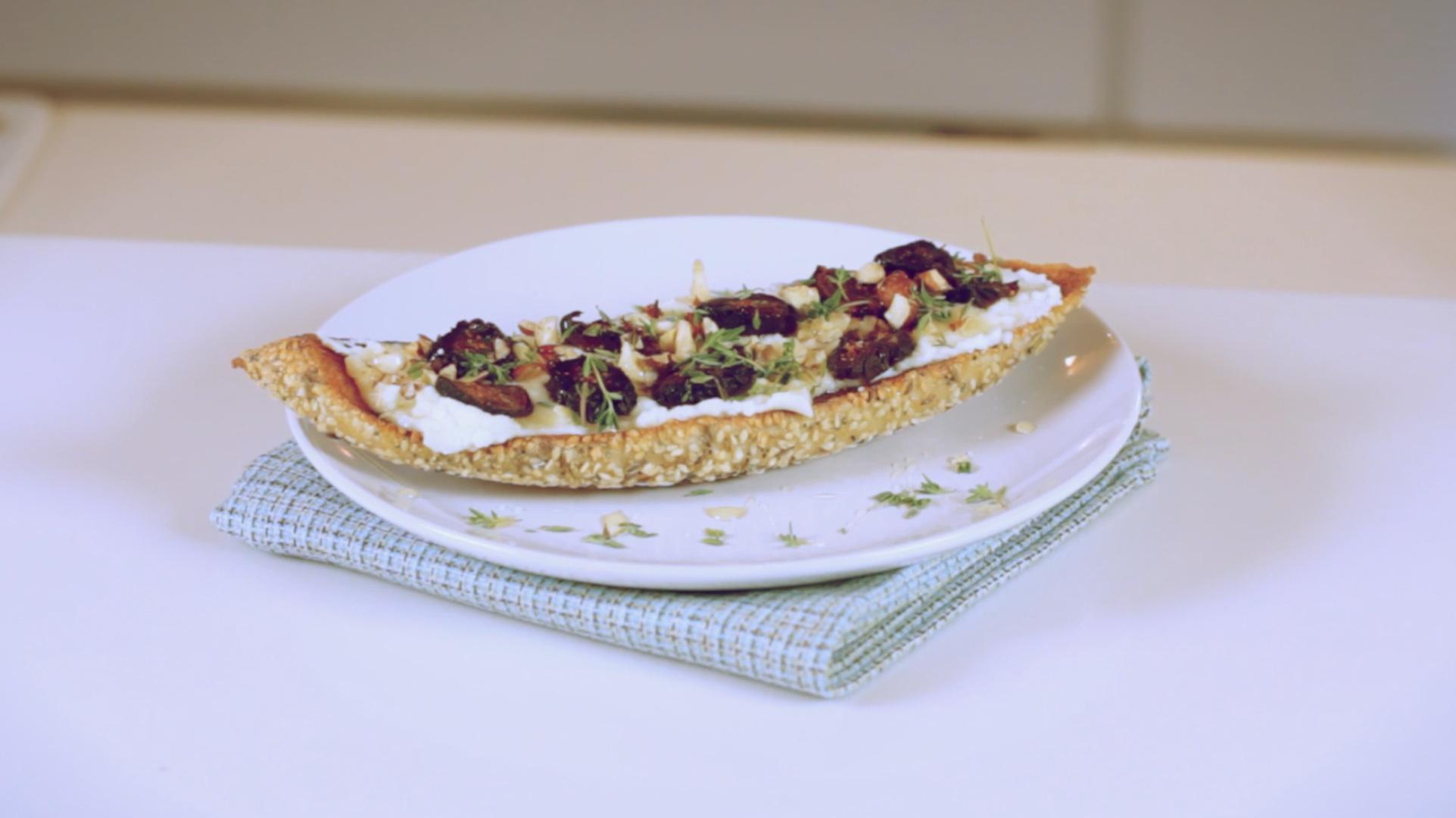 Make a Dried Fig and Ricotta Tartine