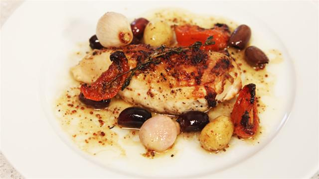 How to Make Lemon, Honey and Thyme Chicken