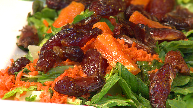 Moroccan Carrot, Date and Orange Salad Recipe