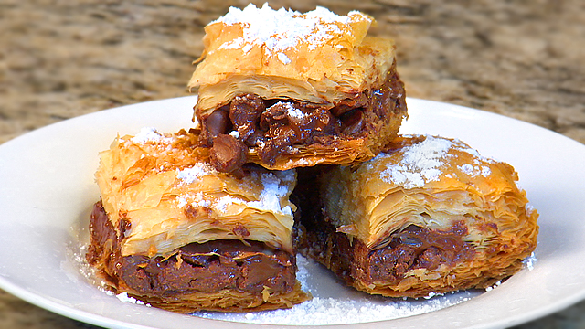 Double Chocolate Baklava Recipe