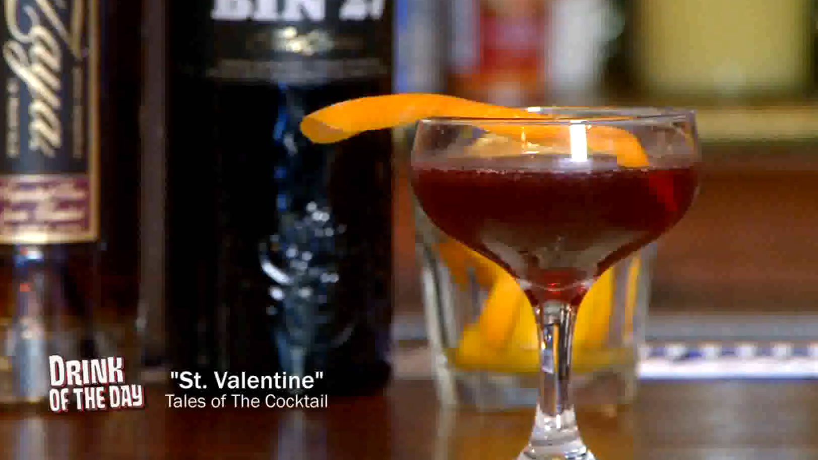 Drink of the Day: St. Valentine's Cocktail Recipe