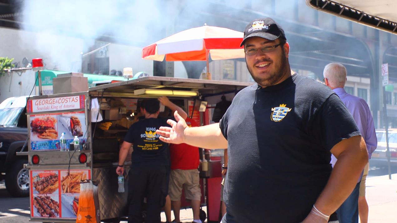 King Souvlaki of Astoria: You Don't Burn, You Don't Learn