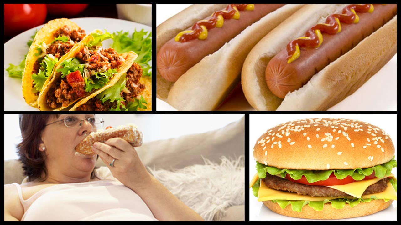 Fast Foods Are Fast Way to Get Fat