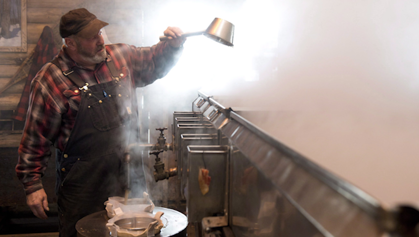 How Maple Syrup Is Made, the Old-Fashioned Way