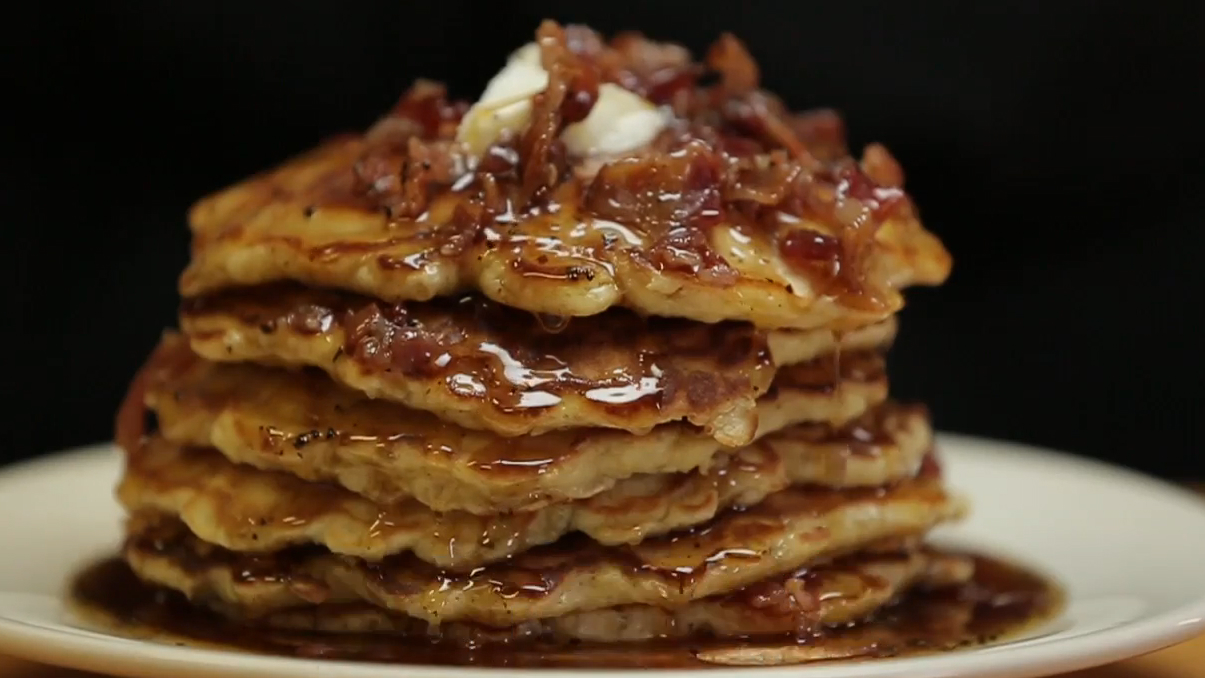 The Ultimate Whiskey Bacon Coffee Pancake Syrup Recipe