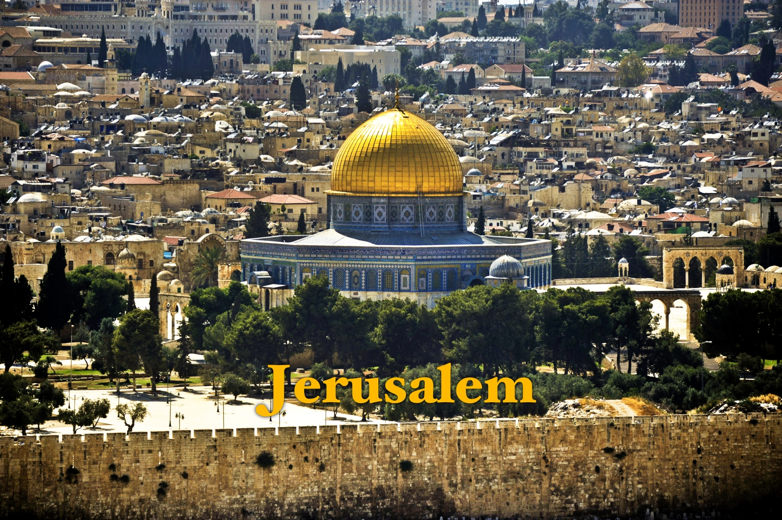 Tourist Attractions in Jerusalem, Israel