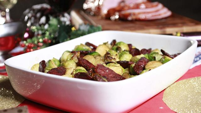 How to Make Sprouts With Chorizo