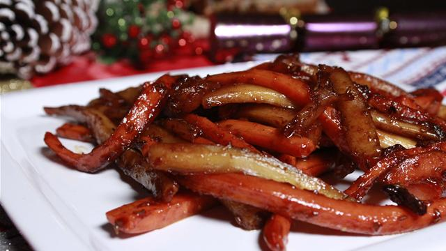 How to Cook Caramelized Carrots and Parsnips