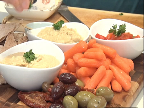 Healthy How to Garnish Your Dinner Party Food