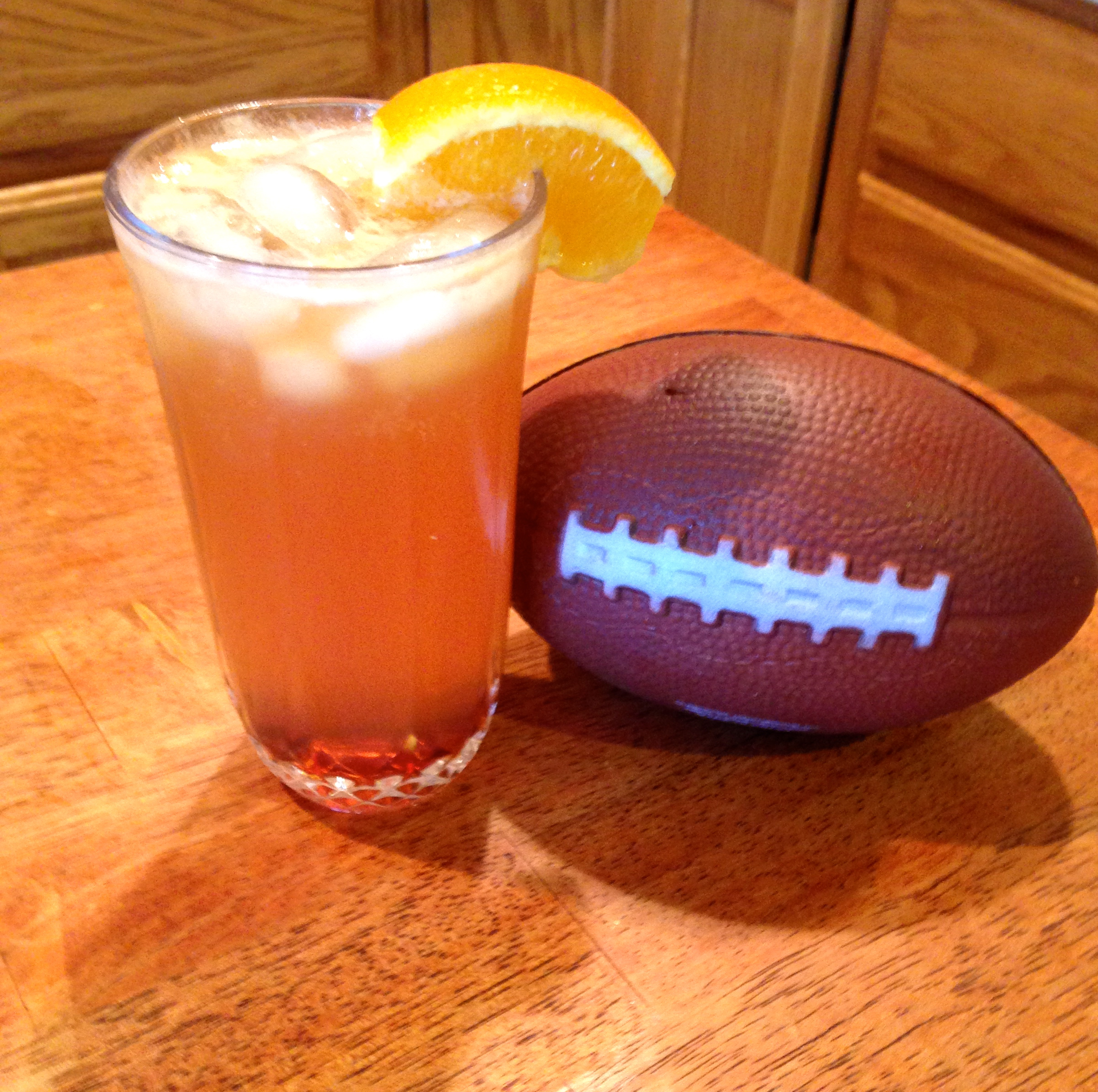 'The Touchdown' Super Bowl Party Cocktail Recipe