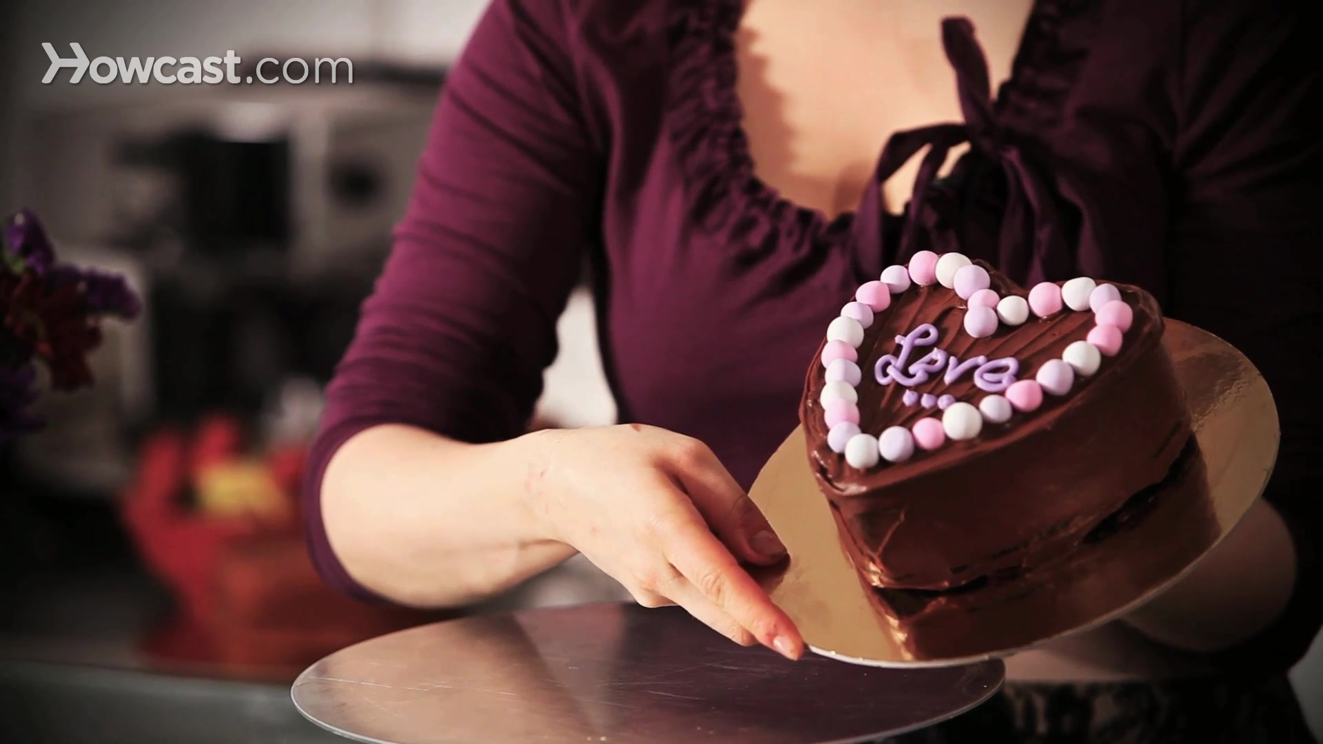 Heart Shaped Cake Decoration Ideas