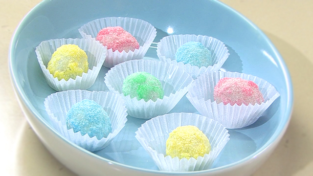 How to Make Sugared Chocolate Eggs