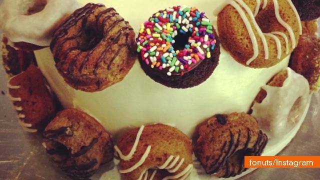 Bakery Selling Baked, Gluten-Free Faux Donuts