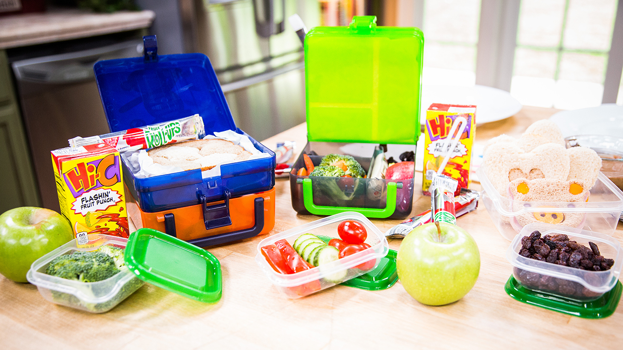 Creative Kids' Lunch Ideas with Jill Simonian