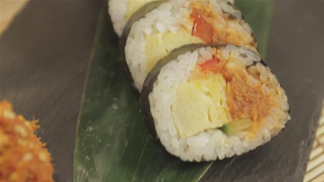 How To Prepare Korean Style Sushi