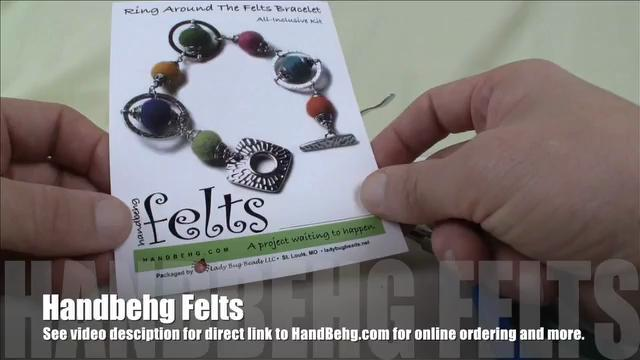 How to Make a Ring Around The Felts Bracelet