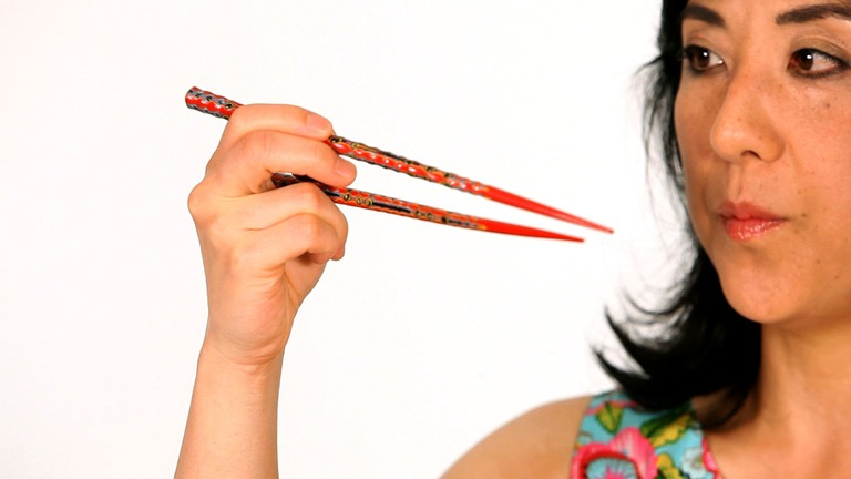 How to Eat Sushi with Chopsticks