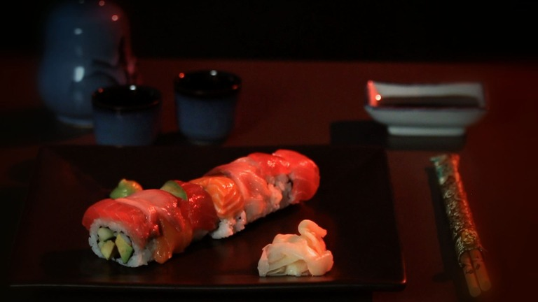 How to Make a Rainbow Roll