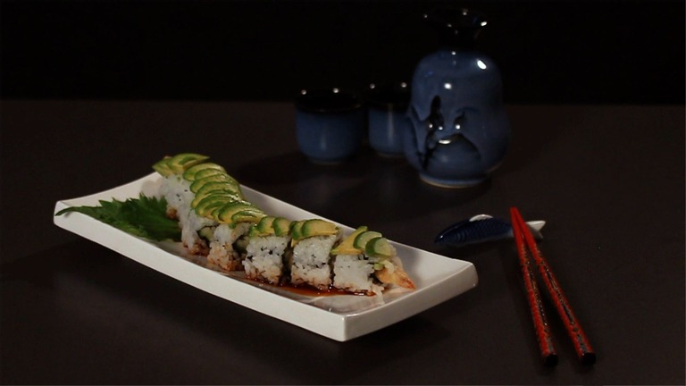 How to Make a Dragon Sushi Roll