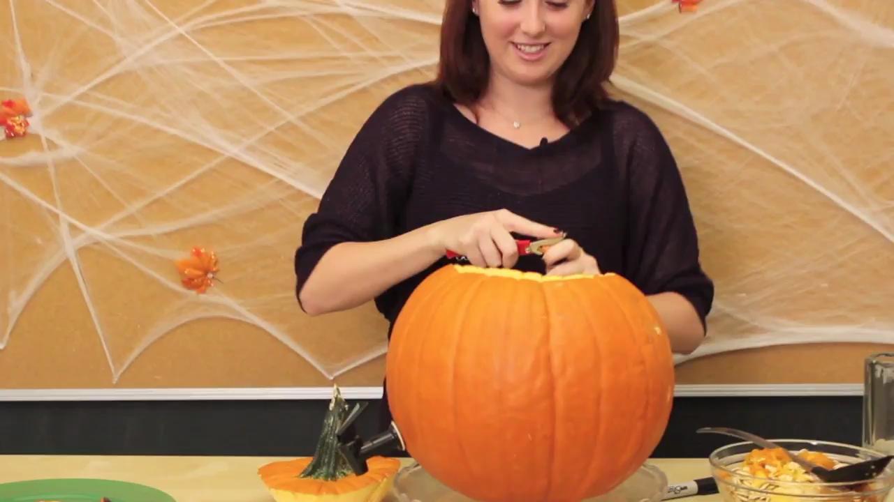 How to Make a Halloween Pumpkin Keg