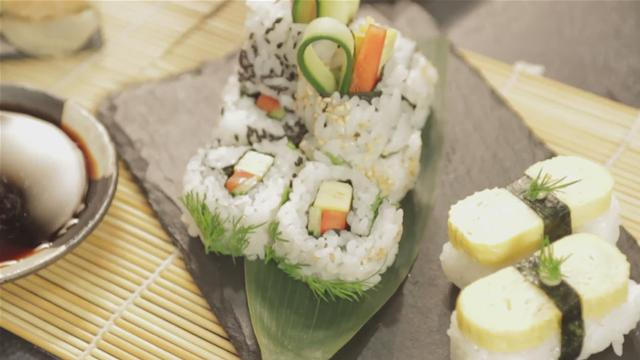 How to Prepare Vegetarian Sushi