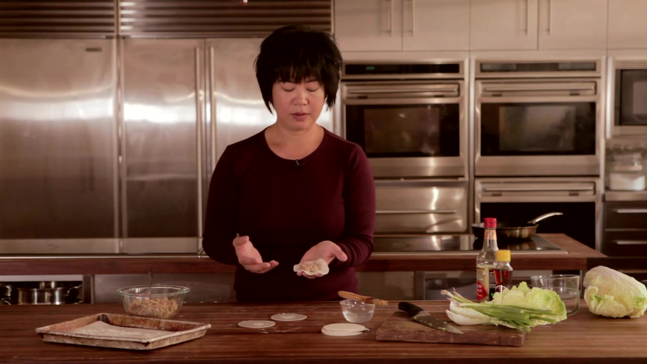 How to Shape Dumplings