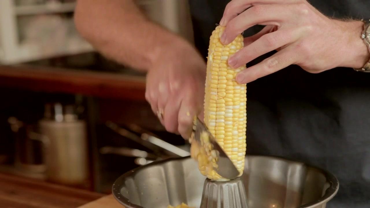 How to Get Corn Off the Cob Using a Bundt Pan