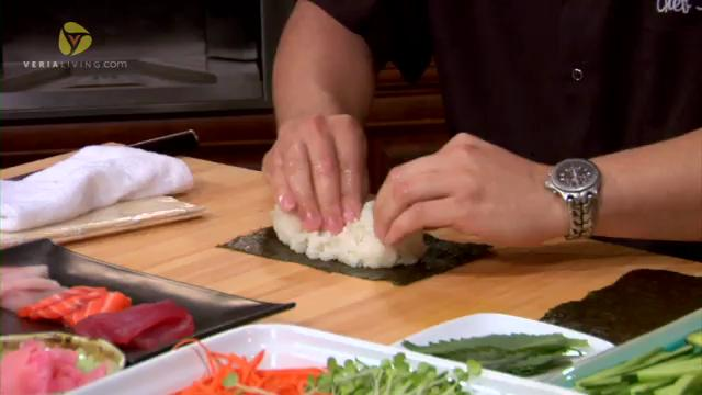 How to Make Rainbow Sushi Rolls