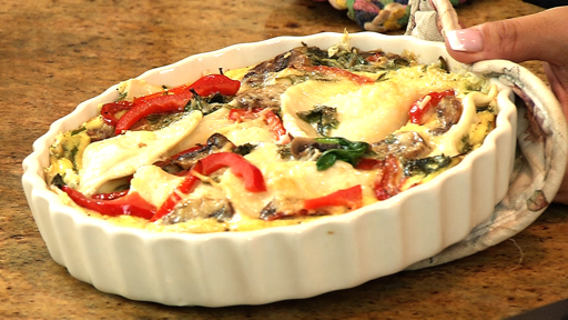 How to Make a Pierogy Brunch Quiche