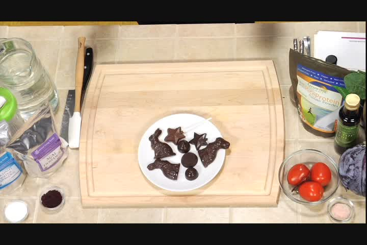 How to Make Quinoa Crisp Chocolate Bunnies