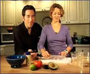 Two Minute Guacamole Snack