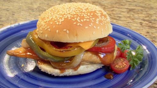 How to Make a BBQ Chicken Sandwich