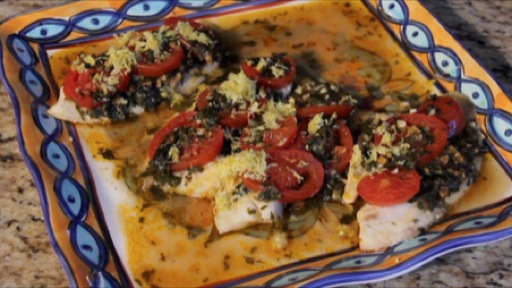 How to Make Moroccan Style Fish with Chermoula Sauce