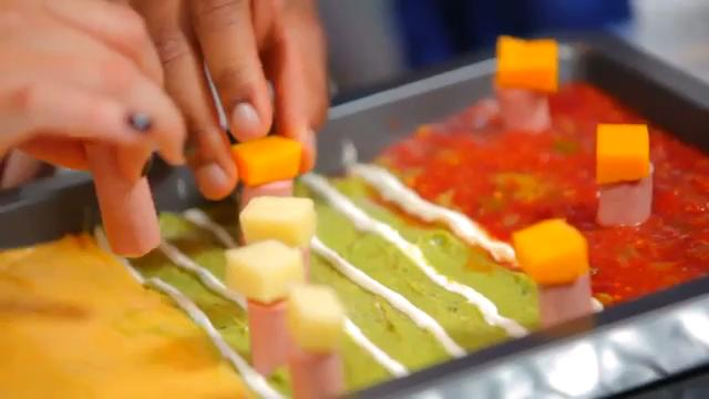 How to Make the Ultimate Football Stadium Out of Party Food