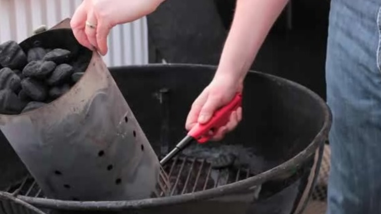 How to Light a Charcoal Fire Properly for a BBQ
