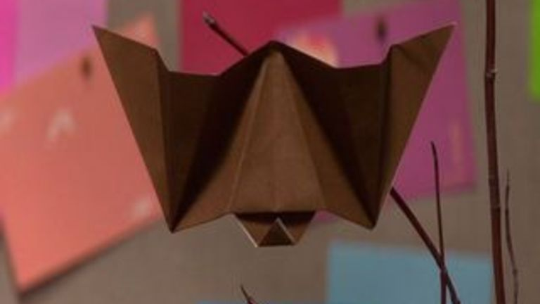 How to Make an Origami Bat