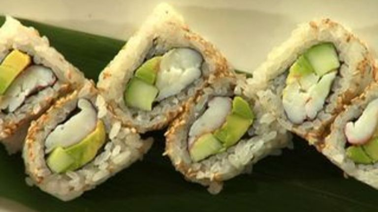 How to Make an Inside Out California Roll