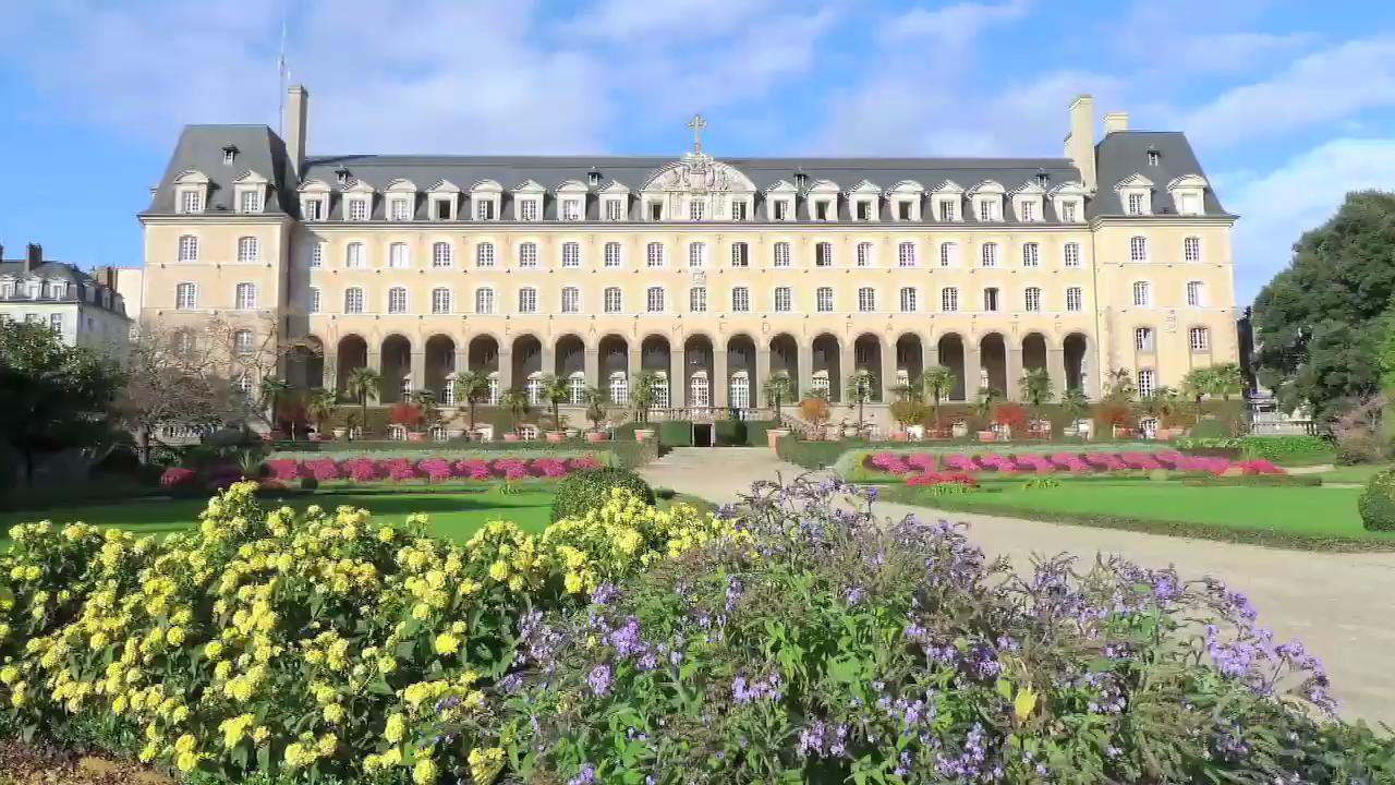 Visit the Saint Georges Palace in Rennes, France