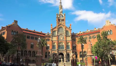 Visit Hospital De Sant Pau in Barcelona, Spain