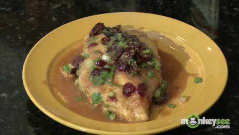 How to Make Chicken with Cranberries