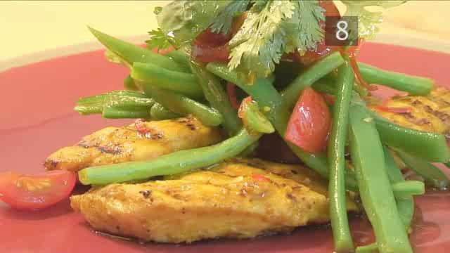How to Make Tasty Chicken Breasts in Satay Sauce