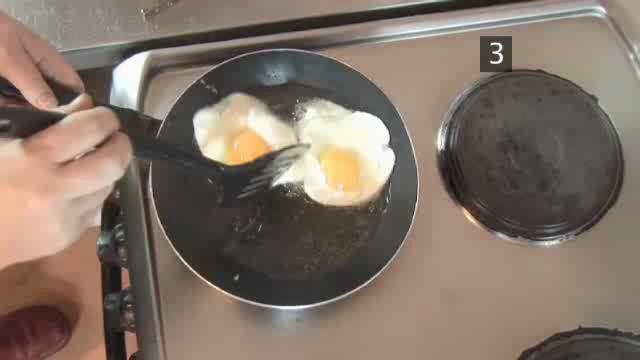 How to Prepare Fried Egg Sandwich